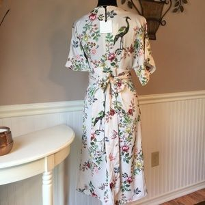 a1745c14b30e2 Anthropologie Dresses - ANTHROPOLOGIE AVIAN KIMONO MIDI DRESS BY dRA